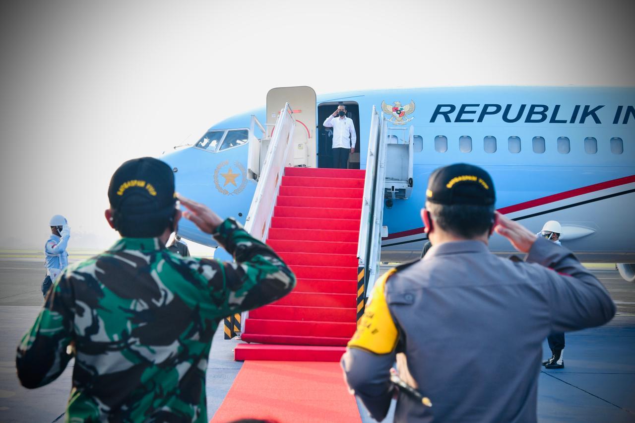 Presiden Lakukan Kunjungan Kerja ke Jawa Timur