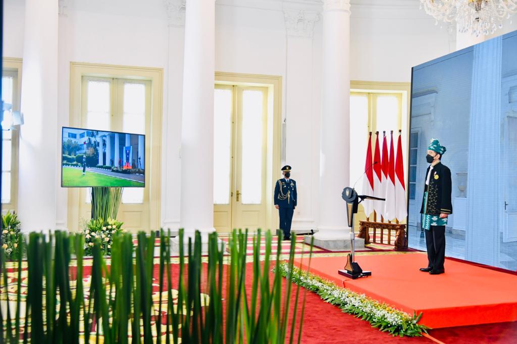 Presiden Jokowi - Hari Lahir Pancasila 2021